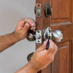 Fix broken door knob